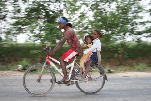 Et lift med far