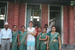 Mr. Chudamani, lærerne og mig