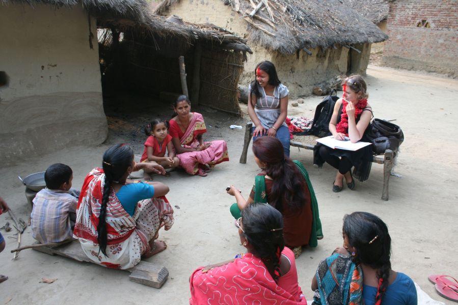 Interviews med forældre på Shree Laxmi school