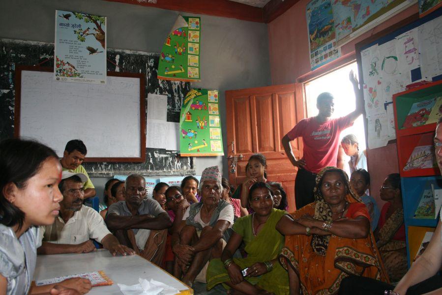 Møde med lærere